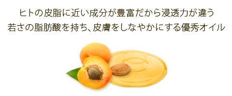 杏仁オイルの特長