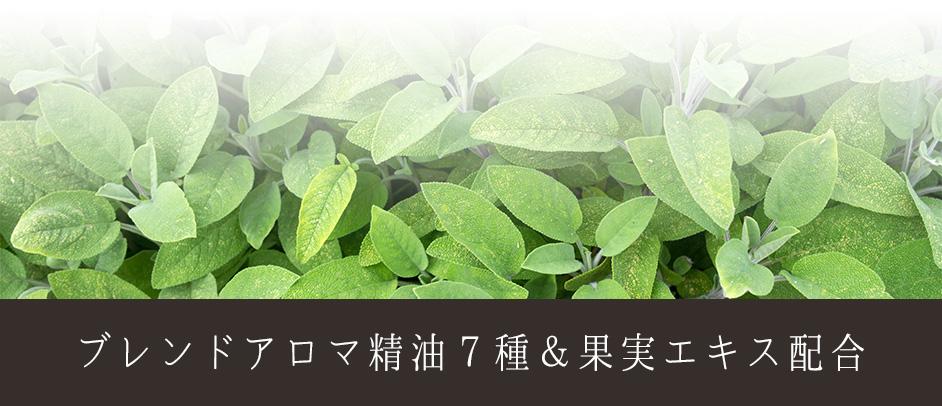 ブレンドアロマ7種&果実エキス