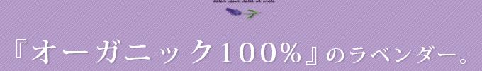 オーガニック100%のラベンダー,newzealand,biogrow取得